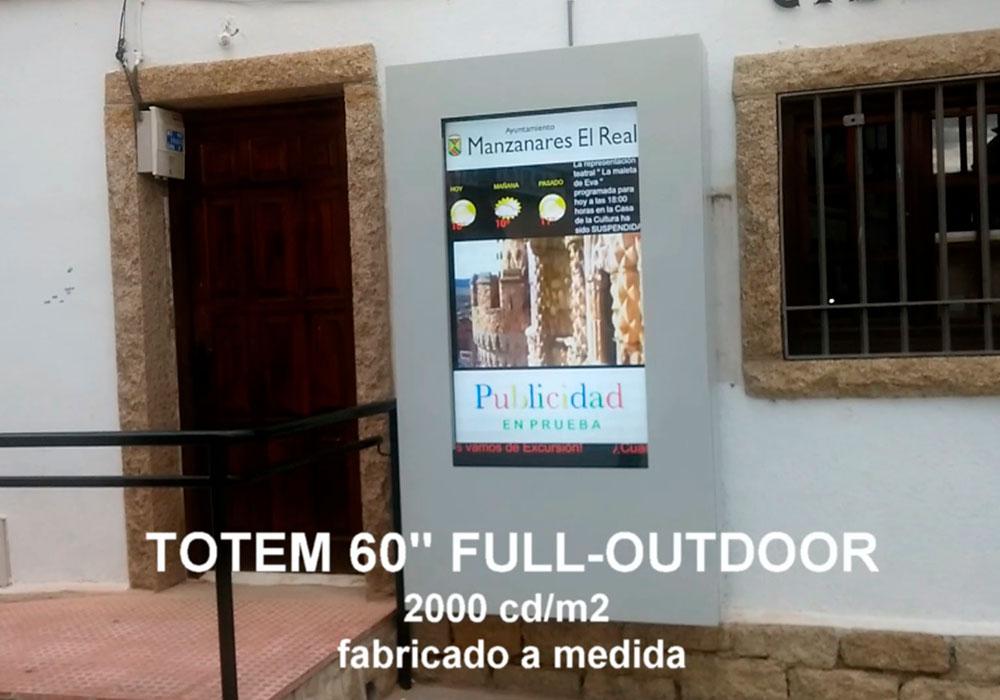 TOTEM DE EXTERIOR 2000 CANDELAS