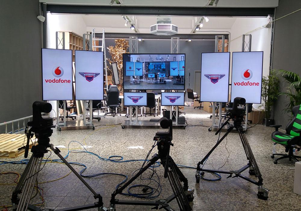 Videowall en Plató de TV