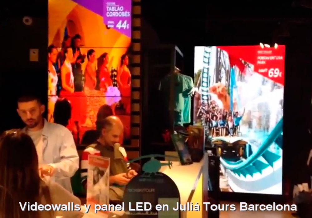 Videowalls y Panel LED en Barcelona